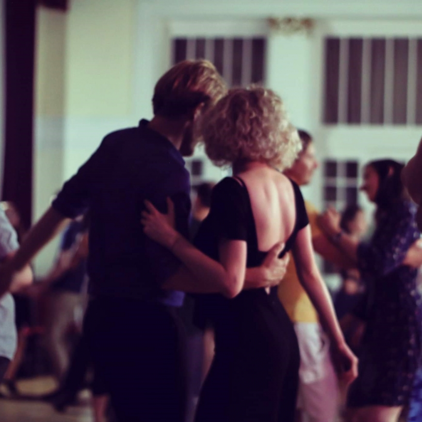 Lindy Hop pāru deja